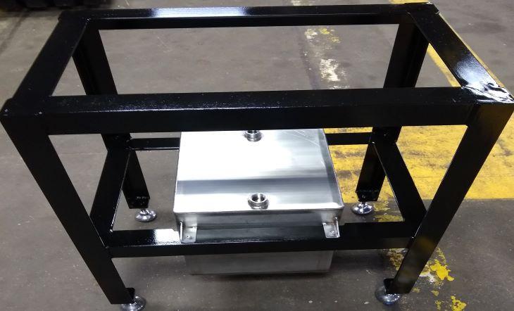 custom fabricated steam trap