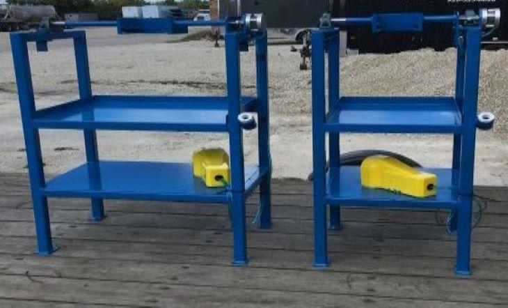 Custom fabricated jig work table